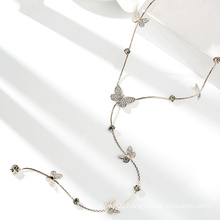 NEW Butterfly shaped Fashion Women Long Necklace