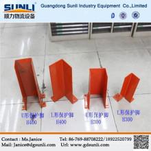 Protector vertical de acero de estanterías / estanterías