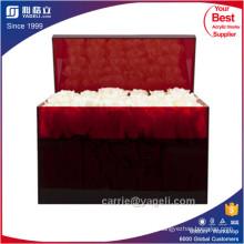Vente en gros de boîtes en acrylique noir ou rouge 36 roses