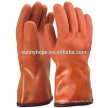Luva anti-temperatura -50 centígrados inverno PVC revestido luva