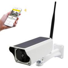 Солнечная энергия уличная камера WiFi IP Bullet водонепроницаемый IP66 беспроводной