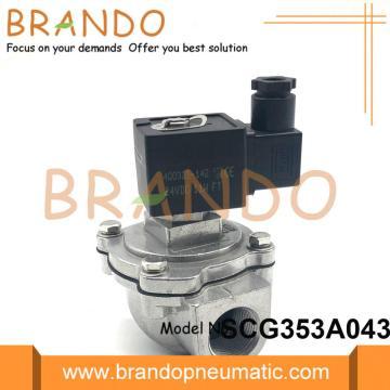 Vanne à membrane en acier inoxydable SCG353A043