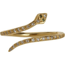 Jewelry Fashion Gold Ring Snake Rings for women Manufacturer & Factory & Supplier