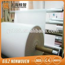Tela material de matéria têxtil da fábrica de matéria têxtil para Spunlace