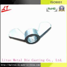 Hardware Alumínio liga CNC couro parafusos e porcas