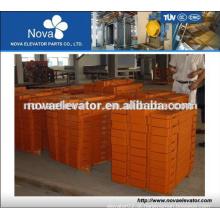Elevador, bloco de contrapeso de ferro & composto