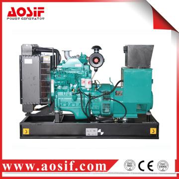 40 кВт Силовой дизельный генератор открытого типа