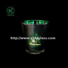 Цветные стеклянные чашки для свечей от SGS, BV (5.3 * 7.5 * 8.3)