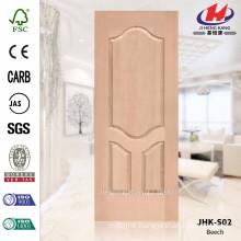 JHK-S02 Unusual Enterior Perfect Design Simple Project Beech Wood Door Materail