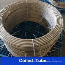 Tubo en espiral soldado de acero inoxidable A269 316L