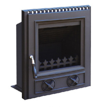 Inserted Cast Iron Stove (FIPD002) Fireplace, Room Heater
