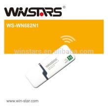 802.11N 150M USB2.0 Mini adaptateur LAN sans fil (1T1R), prend en charge les modes Ad Hoc et Infrastructure