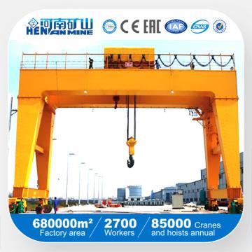 China Equipamento de elevação Double Beam Gantry Crane