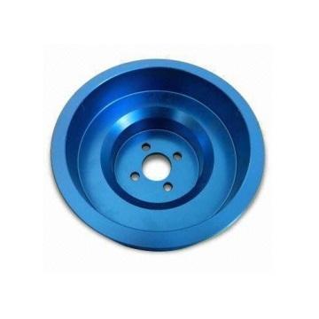 カスタムの高品質ブルーアルマイト精密部品