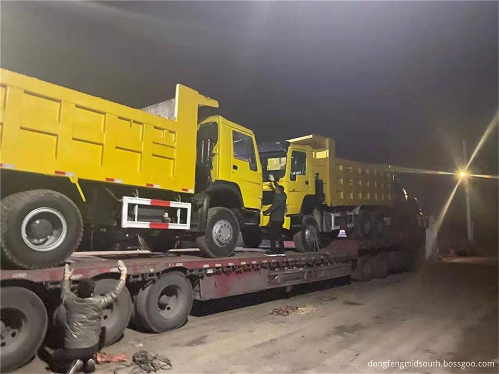 Refursbished Used Howo 6x4 10 Wheels Dump Truck6