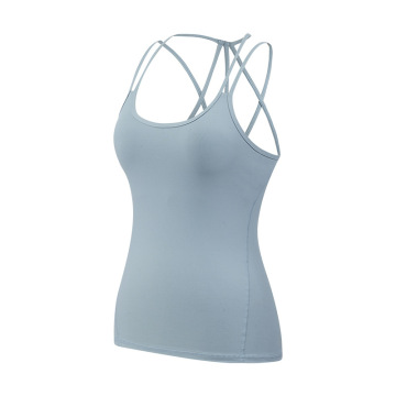Pads Bras Fitness Active Tank Tops