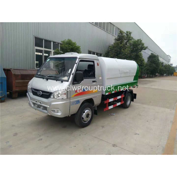 KAMA rear double wheels Sealed garbage truck
