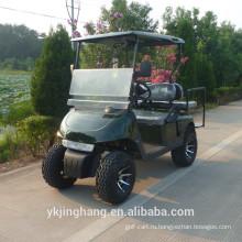 4 колеса электрический гольф тележки с конкурентоспособной ценой/4х4 гольф-кары