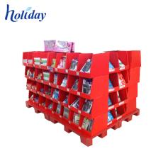 Chine Présentoir de marchandises de supermarché de fabricant, étagère résistante de marchandises de garantie matérielle pour le magasin