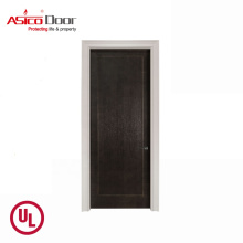 ASICO UL Listed Comercial  Fire Rated Fire Resistant Wood Door With For Interior