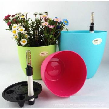 (BC-F1049) Diseño de moda de plástico auto-riego Flower Pot
