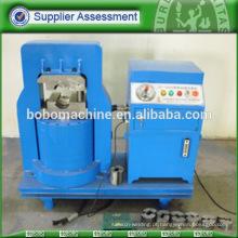 Máquina de estofamento de ferrulhos de cabo hidráulico