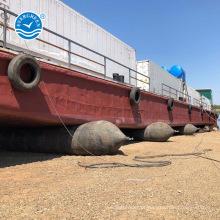 lançamento / aterragem / levantamento / salvamento airbag marinho para navio flutuante