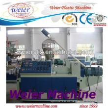 Extrusores de tornillo doble cónicos del PVC / máquina plástica