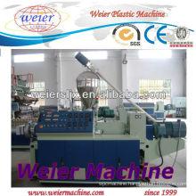 PVC Conical Double Screw Extruders/plastic machine