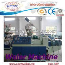 Extrusora de parafuso dobro cónica do PVC / máquina plástica