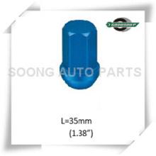 "3/4"" Hex Racing Aluminum Wheel Lug Nuts Colored Aluminum Wheel Lug Nuts"
