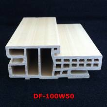 Estilo Israel Df-100W50 do Architrave da porta do batente da porta WPC do quadro WPC da porta de WPC