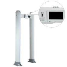 Touch Display LED Alarm Puerta del detector de metales