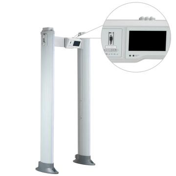 Interior / exterior 100 niveles de seguridad Detector de metales portátil