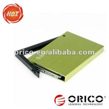 ORICO 2595US3 2.5 '' sata hdd boîtier USB3.0 et interface e-SATA