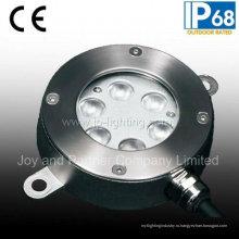 Нержавеющая сталь 6w светодиодный подводный бассейн свет (JP94261)