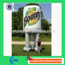Popular inflatable cash cube machine for advertising, advertising inflatable cash cube box