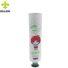 Paquete suave cosmético laminado aluminio del tubo de la crema de la mano 80g