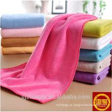 Melhor venda de 100% algodão toalha de cabelo, limpeza de toalha de cabelo, toalha de cabelo descartável