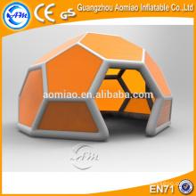 Tenda quente do globo da venda teto inflável do futebol, barraca inflável da abóbada do disco