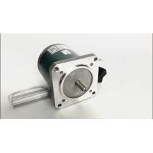 Motor de engranajes helicoidales de tamaño compacto de 220 V y 90 mm
