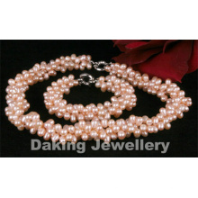 Fashion Jewelry Pearl Jewelry Set (SET03)