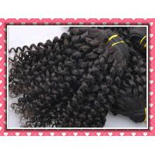 кудрявый Remy бразильской скручиваемости волос для blackwomen