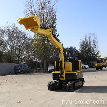 Nice Working Ride-on Mini Crawler Excavator Used For Concrete Pavement FWJ-900-15