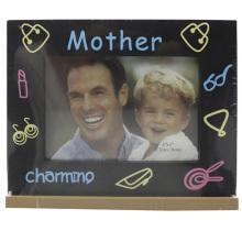 Baby 4x6inch Siebdruck ich liebe Mutter Fotorahmen