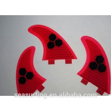 new year super quality SUP Paddle Boards Fins Honeycomb Red Fins