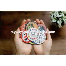 Etiqueta de etiqueta de papel redonda mais vendida