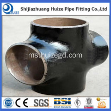 Butt Welded Pipe Fitting Cross Tee