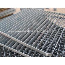 Противоскользящая стальная оцинкованная стальная решетка / решетка из анпингов