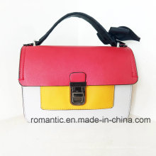 Trendy Leisure Design Women PU Handbags with Lace (NMDK-060202)